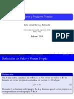 ValorVectorPropio