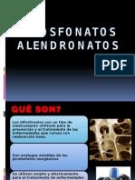 Biofosfonatos y Alendronatos