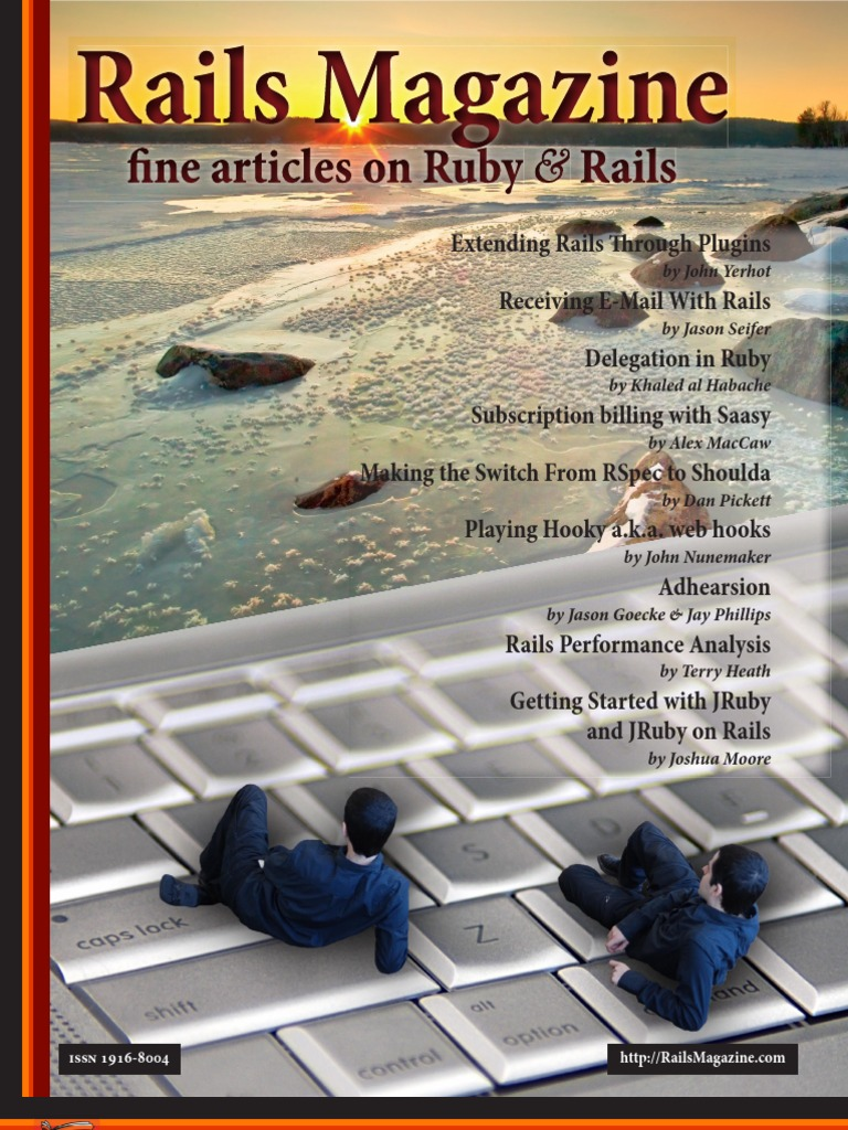 Rails Magazine Issue 1 The Beginning Email Domain Name System