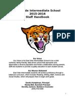 staff handbook 2015-2016
