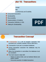 Transactions in Database
