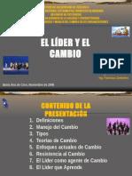 EL LÍDER Y EL CAMBIO