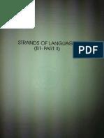 Strands of Language B1 Part II