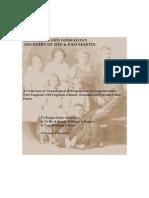 New England Genealogy- Vol. 1