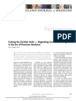 Cutting the Gordian Helix — Regulating Genomic Testing