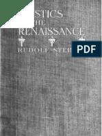 Rudolf Steiner - Mystics of the Renaissance{1911}