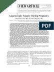 Laparoscopic Surgery During Pregnancy
