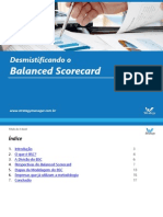 E-Book Desmistificando o Balanced Scorecard Strategy Manager
