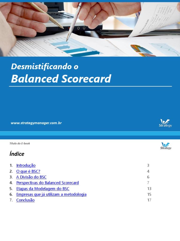 The Balanced Scorecard Book