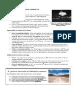 MEDC Desert Case Study Tourism in Las Vegas
