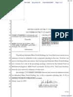 Swarberg v. Menu Foods Holding Inc et al - Document No. 33