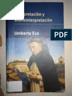 Eco Umberto - Interpretacion Y Sobreinterpretacion (scan).pdf
