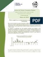Informe de Ventas de Consumo Masivo Marzo