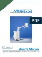 User Manual TMS 300 Rayos x Portatil