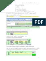 Calculo de Poligonal Con Excel - InTRODUCCION de DATOS