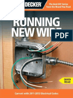 Black & Decker Running New Wire