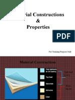 Material Construction & Properties 1