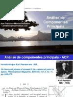 Analise de Componentes Principais ACP