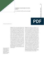 Eqüidade Na Legislação- Um Princípio Do Sistema de Saúde Brasileiro