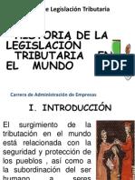 (2) Historia Derecho Tributario en El Mundo