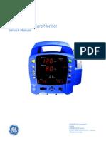 GEHC Service Manual DINAMAP ProCare Monitor 2008