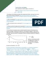 Soluciones Tercer Examen Parcial de Física de Fluidos