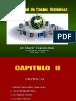 CONTABILIDAD DE COSTOS HISTÓRICOS II