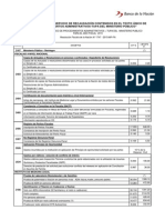 CUADRO POR EL SERVICIO DE RECAUDACIÓN CONTENIDOS EN EL TEXTO ÚNICO DE PROCEDIMIENTOS ADMINISTRATIVOS-TUPA DEL MINISTERIO PÚBLICO