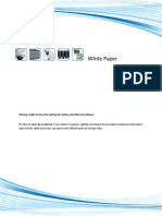 Lighting and Video Surveillance White Paper