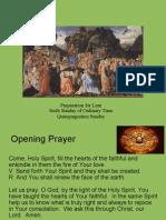 06 - Preparation for Lent