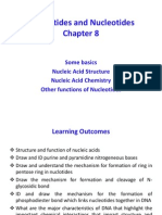 Biological Chemistry chapter 8