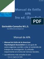 Apa 3ra edicion Español