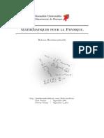 Grenoble Université - Mathématiques Pour La Physique