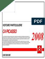 Manuel Atelier C4 Picasso 2008