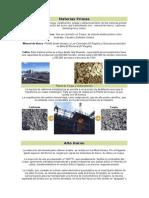 Fases de Industrializacion Del Hierro