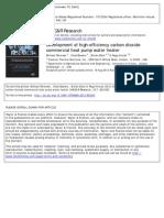 Development of high-efficiency carbon dioxide