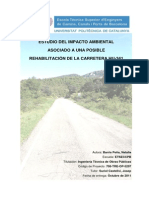Estudio Del Impacto Ambiental Carretera HU-341
