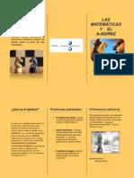 Ajedrez y matemáticas, un ejemplo de publicidad