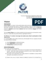 ActiveCitizen Vision & Platform Description v2.0