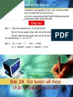 Sơ lược về HC chứa O của clo