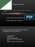 1° CLASER EXPEDIENTE TECNICO.ppt