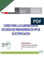 GUIA PARA ELABORAR PIP DE ELECTRIFICACION