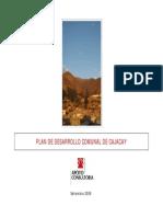 Plan de Desarrollo Comunal de Cajacay Elaborado Por APOYO