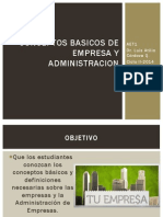 Conceptos Basicos de Empresa y Administracion (1)