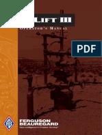 Liquilift III Manual