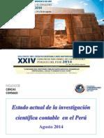 a1_conferencia_estado Actual de La Investigacion Cientifica Contable_oscar Diaz Becerra