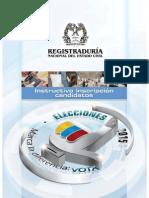 Inscripcion de Candidatos Elecciones