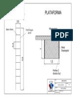Escalera y Plataforma