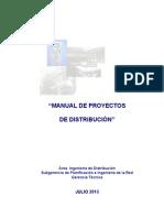 Manual de Proyectos Chilectra Julio 2013