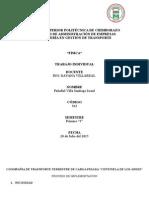 Proyecto Coopañia de Trasnporte Terrestre de Carga Pesada